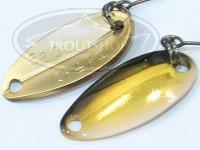 アングラーズドリームバイト 8tin(エイティン) -  0.9g #3 ロイヤルゴールドオセロ 18.1mm 0.9g