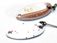 アングラーズドリームバイト 8tin(エイティン) -  0.9g #8 ホワイト/コパー風 18.1mm 0.9g