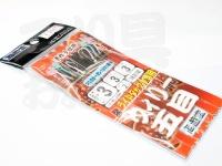 下田漁具 ライトタックル専用 ウィリー五目 - KL-300  チヌネオカラーH3号 ハリス3号 幹3号