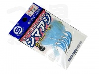 下田漁具 シマアジ ウィリー&スキン - - #ブルー 17号