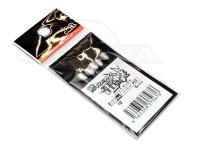 ジャズ 鯵ヘッド電撃 - Dタイプ - 0.6g フックサイズ#10