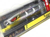 剣屋 メタルジグ - 頑鉄ジグ80g 銀月 約89mm 80g