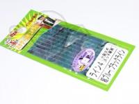 あわび本舗 アワビシート - 小型エギ・スッテ専用 #超ブルー/ブラックライン