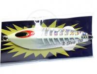 ブルーニングハーツ ファルコン - Zスロー150g #27 シルバーグローヘッド 150g 片面Vキール