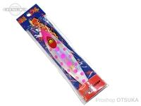 ダミキジャパン 闘魂ジグ - バックドロップ160g レイワピンク#123 160g