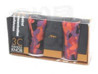 ミブロ 3C ハンドルノブ -  #08 レッドカモフラージュ