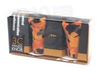 ミブロ 3C ハンドルノブ -  #09 オレンジカモフラージュ