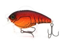 ミブロ&KTWルアーズ 漁師クランク -  #03 レッドスワンプ 90mm 27g 最大深度2.5m