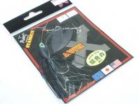 LSDデザイン スピナーベイト - スタンガン #19 マットブラック 1/4oz ダブルウィロー