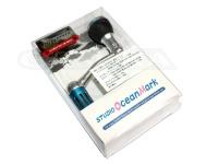 スタジオオーシャンマーク スピニングリール用ハンドル - EX2500-MB マットブルー セルテート対応