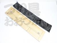 かちどき FC-5-60浮子箱5本用 - 60cm桐×黒檀