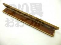 かちどき 焼桐浮子箱 - 5本用 #焼桐 60cmx5用