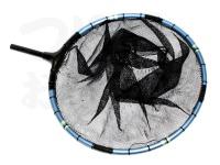 かちどき 凱 カーボン玉枠2mm網付 -  マジョーラスカイ カーボンタイプ段巻(差込口黒檀)