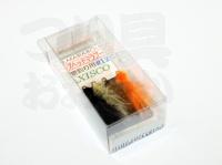 アングル 完成フライセット ビーズヘッドマラブー - -  #12