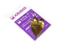 カハラジャパン KJブレード -  #ゴールド #3 ウィローリーフブレード