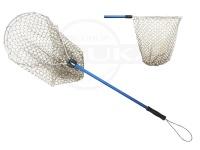 カハラジャパン ラバーランディングネット - ミッドタイプ ブルー シャフト70cm