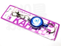カハラジャパン ピンオンリール -  リングタイプ #ブルー コード60cm