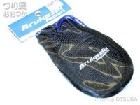 キザクラ アルカジック - Arミニフィンガータオル #ブラック W75×H125mm
