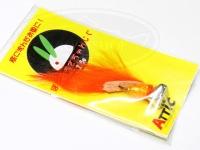 アチック うさちゃんジグ - ボトム 2.5g #06 オレンジ 2.5g