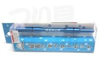 嶋屋 ナヌーク - 延長アダプターセット #ブルー 全長 105mm 自重10g 元径5mm 先径5mm