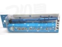 嶋屋 ナヌーク - 延長アダプターセット ガイド付 #ブルー 全長 105mm 自重10g 元径5mm 先径5mm