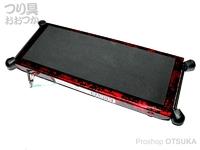 嶋屋 ナヌーク - 可変デッキプロ #限定カラー レッド銀箔 天板サイズ 105×260mm 約700g