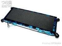 嶋屋 ナヌーク - 可変デッキプロ #限定カラー ブルー銀箔 天板サイズ 105×260mm 約700g