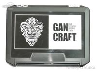 ガンクラフト ケース - フレームインフェイスロゴ JK BOX #ブラック/ホワイト 255×190×60mm