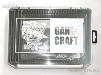 ガンクラフト ケース - フレームインフェイスロゴ JK BOX #クリアー/ブラック 255×190×60mm