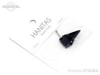 マドタチ ルアーパーツ - ハニタス スペアテール #ブラック ハニタス用