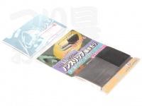 オオモリ 凱 ノンスリップ板オモリ - LL 鉛色 0.2mm