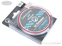 ライムカントリーアンドストリームス LCストリーマー -  #ホワイト/ブルー 1.5号 MAX28lb 150m/164yd
