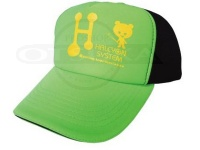 ハルシオンシステム キャップ - アメリカン #グリーン・イエローロゴ フリー