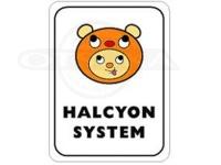 ハルシオンシステム ステッカー - ハル坊  75mm×100mm