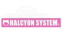 ハルシオンシステム ステッカー - ハルシオンロゴ #ピンク S 170mm×25mm