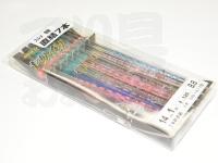下田漁具 ビードロ針 - 14-1 直結仕掛け  7本直結仕掛け