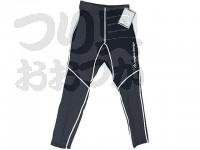 アングラーズデザイン ラッシュタイツ - ADU-02 BK #ブラック Mサイズ