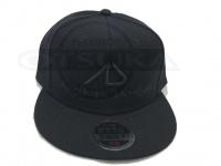 アングラーズデザイン フラットバイザーキャップ - ADC-15 #ブラック フリー