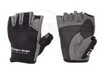 アングラーズデザイン スリップオン 5フィンガーレス メッシュグローブ - ADG-13 #ブラック 3L