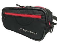 アングラーズデザイン RSバッグII - ADB-36RS #レッドステッチ 315×100×140mm