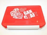 ガンクラフト タックルボックス - シャドーフェイス マルチ ボックス #レッド/ホワイト