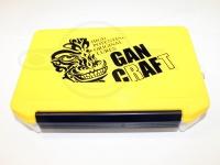 ガンクラフト タックルボックス - シャドーフェイス マルチ ボックス #イエロー/ホワイト