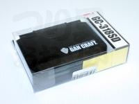 ガンクラフト ケース - GC-318SD #ブラック 122×87×34mm 8コマ深型+1コマ深型