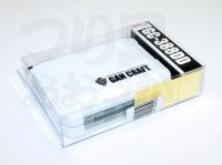 ガンクラフト ケース - GC-388DD #ホワイト 122×87×34mm 8コマ深型+8コマ深型