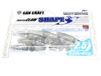 ガンクラフト ジョインテッドクロー -  シェイプス 2.5インチ #02 シルバーシャッド 2.5インチ 鮎フレーバー配合