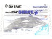 ガンクラフト ジョインテッドクロー -  シェイプス 2.5インチ #17 セクシースモーク 2.5インチ 鮎フレーバー配合