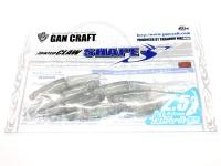 ガンクラフト ジョインテッドクロー -  シェイプス 2.5インチ #18 クリアーレイクシャッド 2.5インチ 鮎フレーバー配合