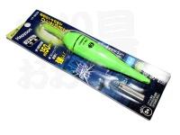 ハピソン 緑発光 ラバートップミニウキ - YF-8623 #緑色光 適合オモリ 3.0号相当