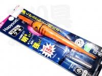 ハピソン 赤発光 ラバートップミニウキ - YF-060DL #オレンジ 赤発光 適合オモリ 小 G1相当