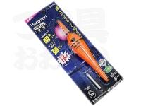 ハピソン 赤発光 ラバートップミニウキ - YF-065DL #赤色光 適合オモリ 2.0号相当